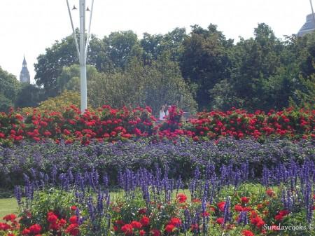 jardins do Palácio de Buckingham