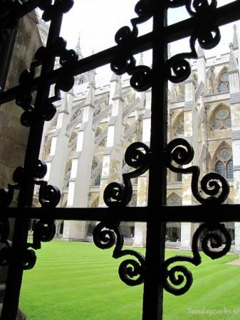 parte internda da Abadia de Westminster
