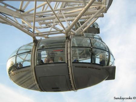 cabine do London Eye