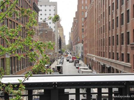 Sul de Manhattan - High Line - outra vista