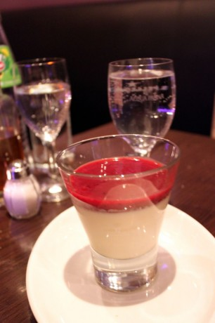 Restaurantes Italianos em Munique: Panna cotta
