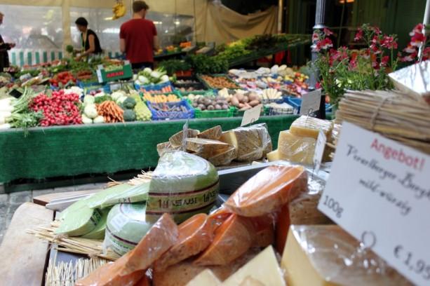 Viktualienmarkt Munique - Queijos