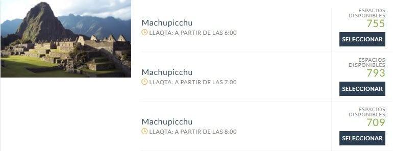 Como comprar ingressos de Machu Picchu 2019 - 02