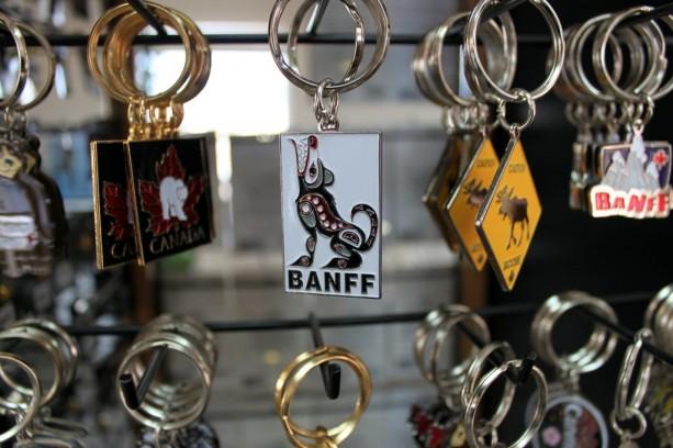 Explore Canada - Chaveiros de Banff