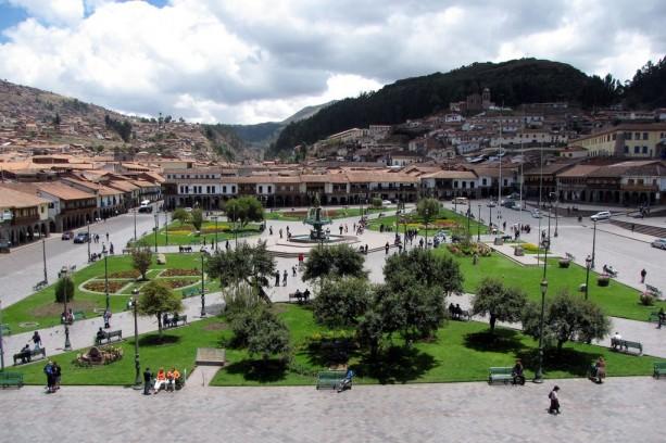 Plaza de Armas vista de cima