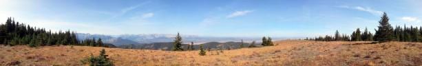 Montanhas próximas a Kananaskis