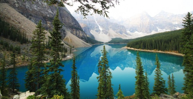 Lagos do Canada - Lake Moraine