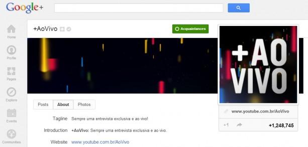 Sundaycooks no +AoVivo de Carnaval do Google