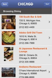 Choose Chicago - Restaurantes