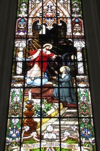 Final de semana em Vitória - Catedral de Vitória - vitral