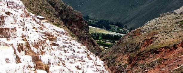 Valle Sagrado - Salineras de Maras - montanhas