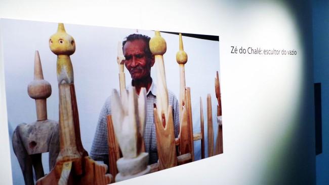 Galeria Estação - Zé do Chalé: escultor do vazio