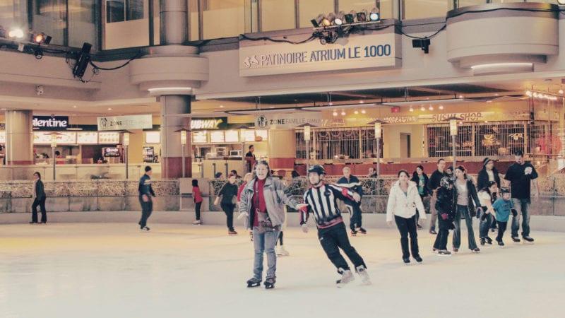 O que fazer em Montreal, no Canadá: patinação no gelo