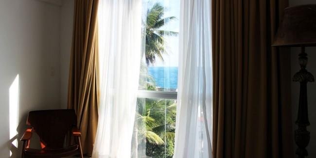 Onde ficar em Salvador - vista do quarto