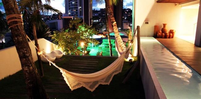 Onde ficar em Salvador - vista noturna