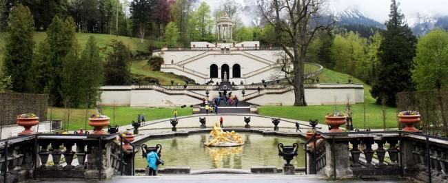 Castelos da Alemanha - Jardins de Linderhof