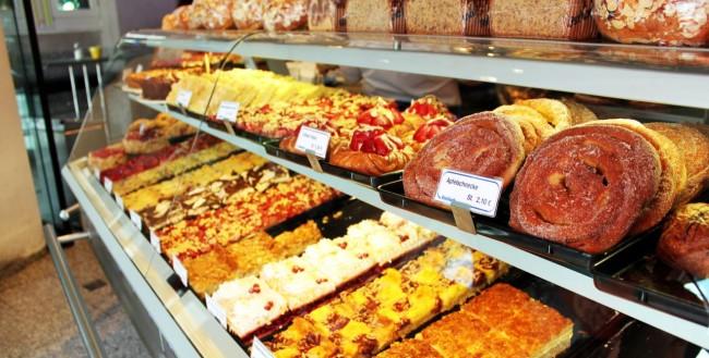 Centro histórico de Munique - Loja de doces na Viktualienmarkt