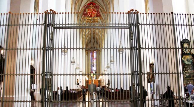 Centro histórico de Munique - Frauenkirche por dentro