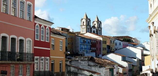 Fim de semana em Salvador - Vista do Pelourinho