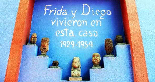 Museu Frida Khalo - Frida e Diego