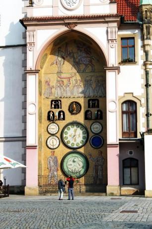 Olomouc - Relógio Astronômico 02