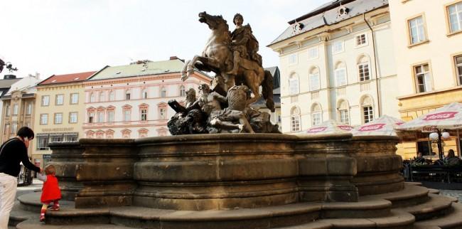 Olomouc - Fonte do César