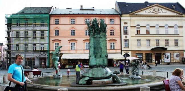 Olomouc - Fonte do Arion