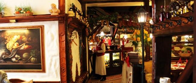 Olomouc - Restaurante Moravska - decoração