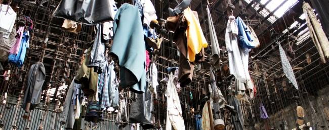 Ostrava - Mina Michal roupas deixadas no último dia