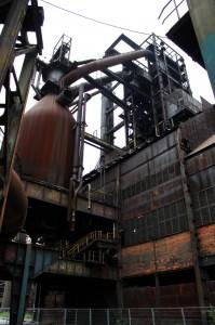 Ostrava - Vitkovice fornos e tubos