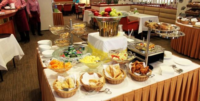 Ostrava - Hotel Imperial Mamaison café da manhã