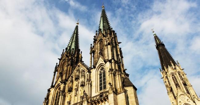 Road trip pela República Tcheca - Uma das catedrais de Olomouc