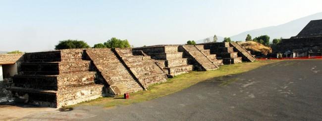 Teotihuacán - pirâmides menores
