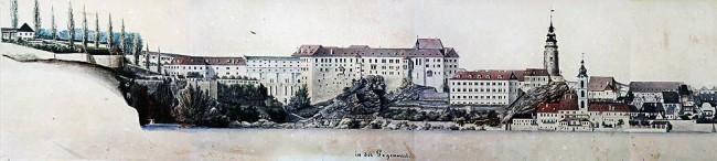 Cesky Krumlov UNESCO - Castelo no século XIX