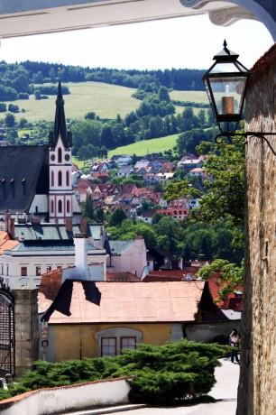 Cesky Krumlov UNESCO - Vista do castelo