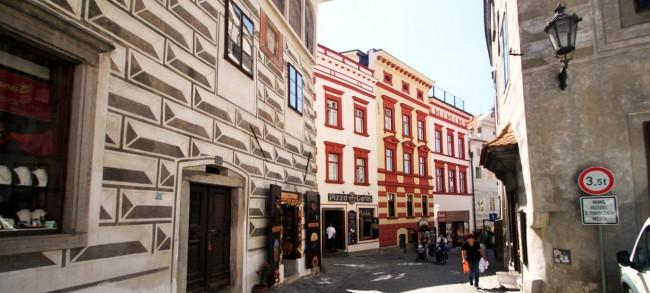 Cesky Krumlov UNESCO - Ruas da cidade