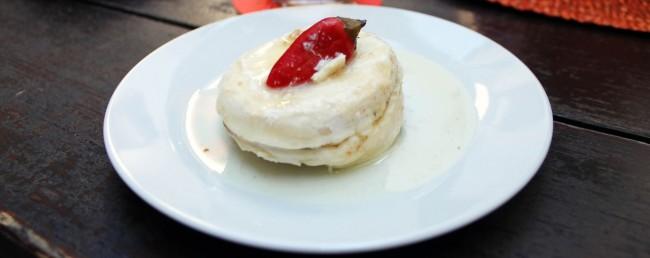 Cesky Krumlov UNESCO - Queijo marinado - Hermelin nakladany v pepri