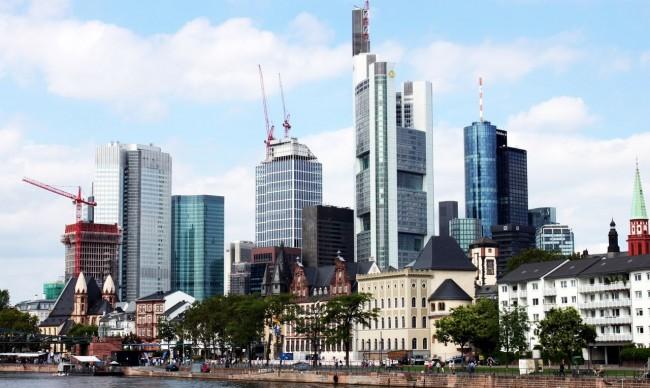 Passeio em Frankfurt - Skyline de Frankfurt