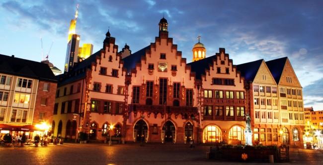 Onde ficar em Frankfurt - Centro Histórico de Frankfurt - Römerberg