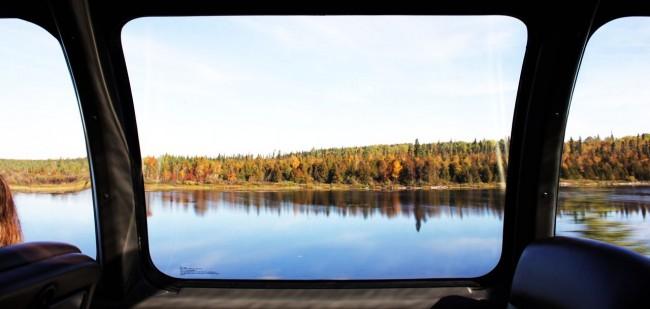 Viajar de trem no Canadá - The Canadian - paisagem dos lagos 5