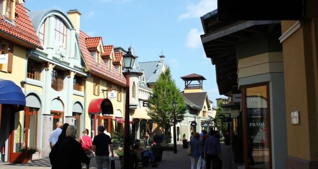 Outlets da Alemanha - Wertheim Village - Por dentro 1