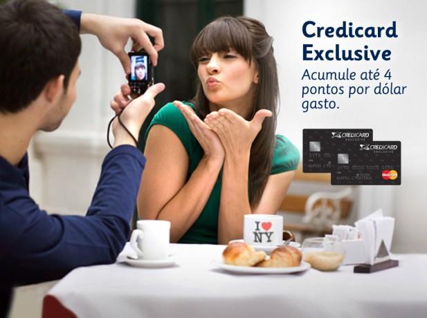 Vantagens do Credicard Exclusive
