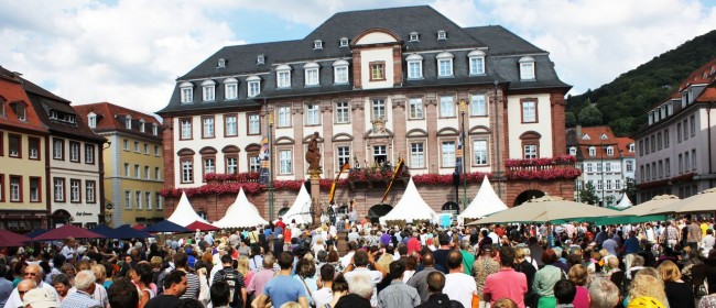 Guia de Heidelberg na Alemanha - The Wedding na Marketplatz