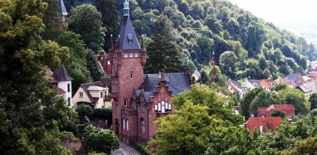 Guia de Heidelberg na Alemanha - Outra casa no castelo