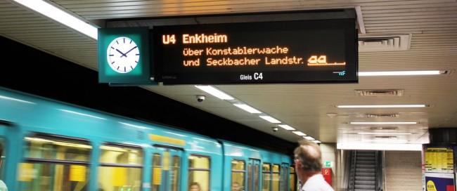 Metrô de Frankfurt - Detalhes da linha 4 do metrô