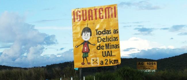 Serra da Canastra - No caminho para a pousada