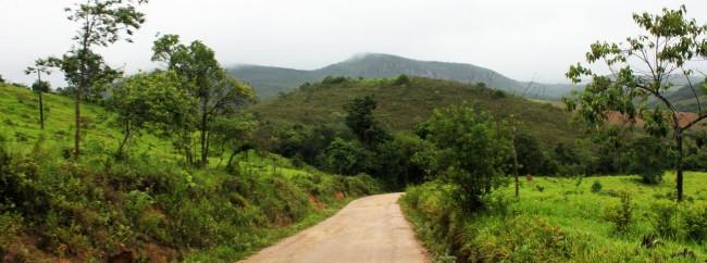Serra da Canastra - E começam as estradas de terra