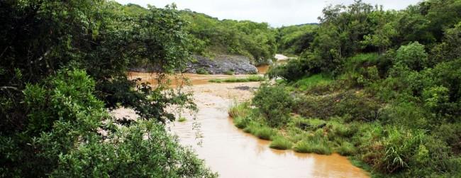 Serra da Canastra - Rio São Francisco logo depois da chuva