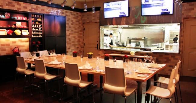 Vinícolas da Virginia/Washington - Restaurante do Salamander Resort - Salão para grupos