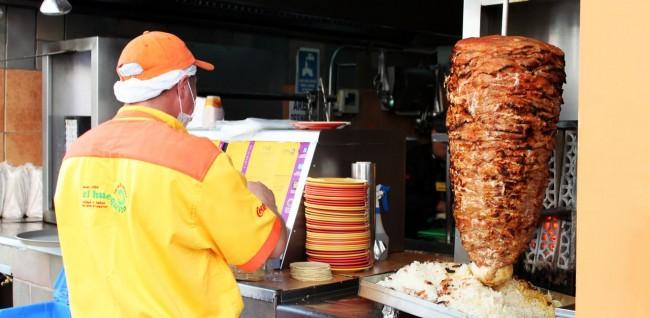 Zocalo Centro Histórico da Cidade do México - El Huequito Tacos al Pastor